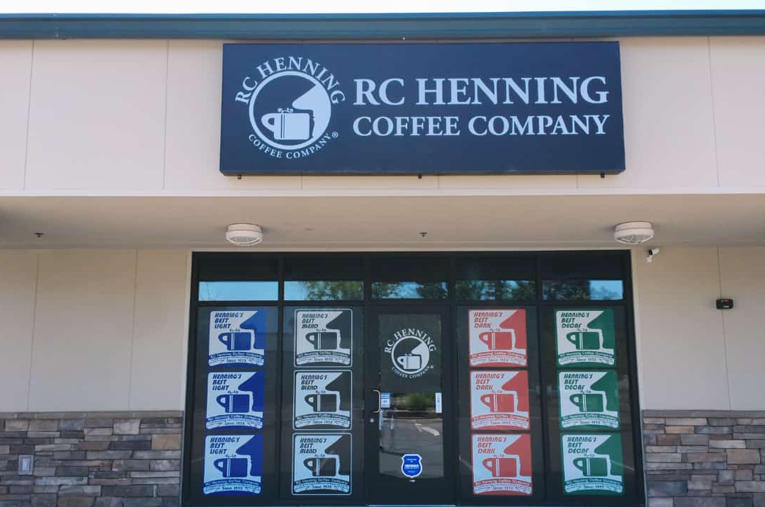 RC Henning Coffee Company Retail Store in Cameron Park, CA