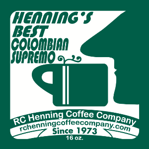 Henning's Best Colombian Supremo Coffee
