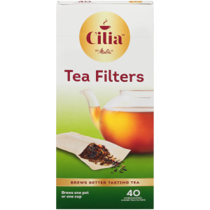 MELITTA ONE-CUP TEA FILTERS 40 CT.